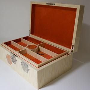 Luxury Wooden Box interior