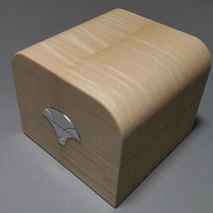 Wooden Trinket Box exterior view